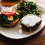 Northstar Café Earth Day Burger