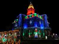 licking county courthouse christmas