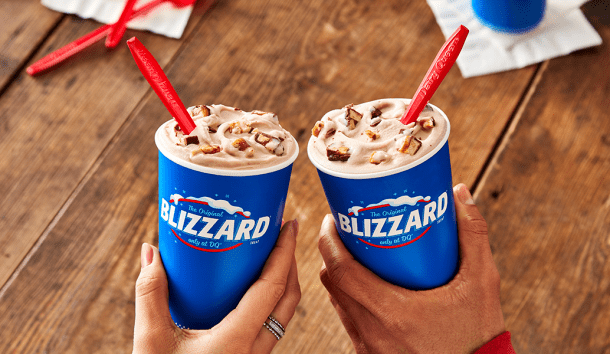dairy queen blizzard BOGO 80 cents Blizzard Treats