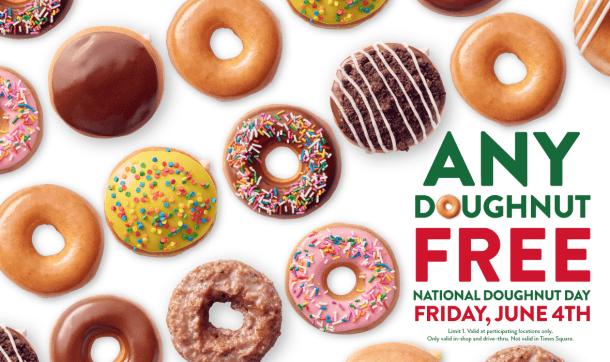 Krispy Kreme national doughnut