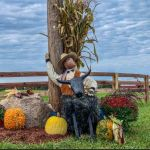 Find over 300 scarecrows on the Fairfield County Trail of Scarecrows