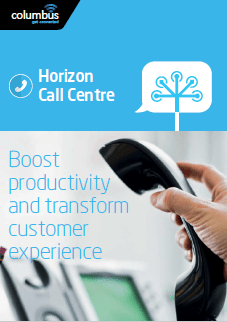 Image of Horizon Call Centre brochure cover