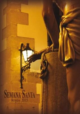 Cartel Oficial de la Semana Santa de Ronda del 2015.