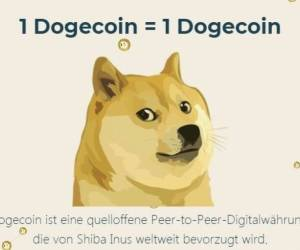 Das steckt hinter der Kyptowährung Dogecoin