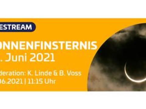 Webtipp: partielle Sonnenfinsternis live beobachten