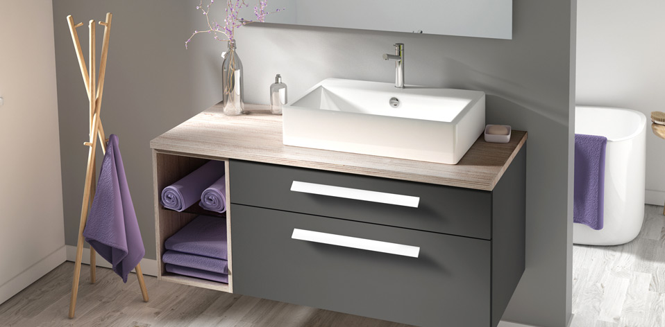 meubles salle de bain design et
