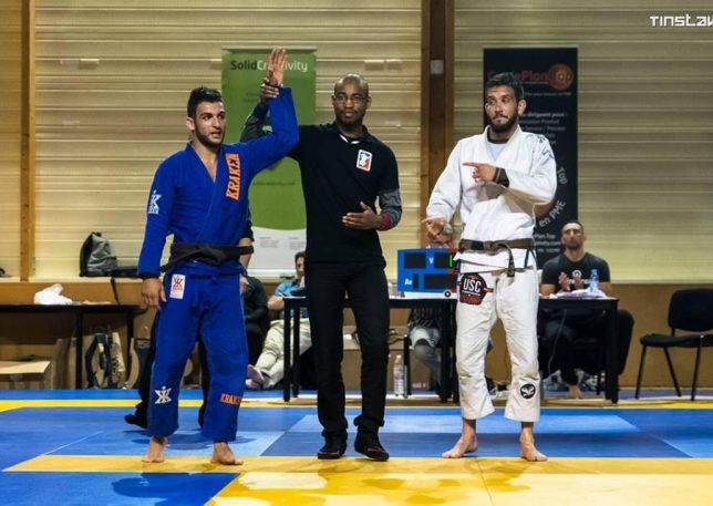 Anthony De Oliveira vainqueur lors du Bordeaux Submission Contest
