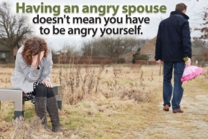 How to cope with an angry spouse