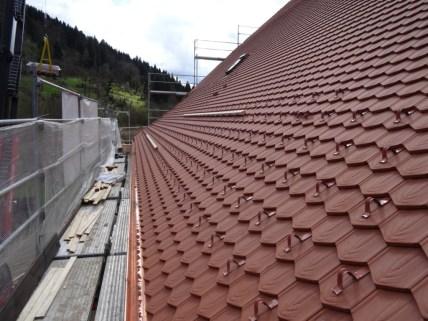 Réfection du toit: pan sud