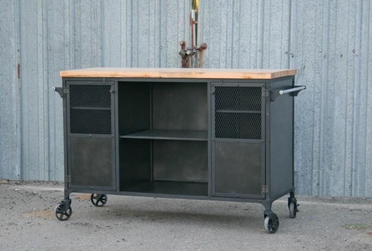 combine 9 | industrial furniture – industrial kitchen island, modern