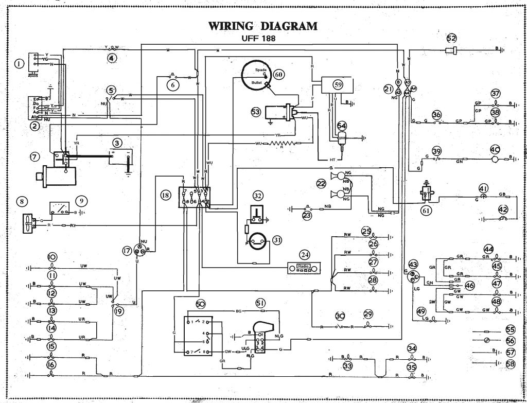 uhaul wiring harness diagram