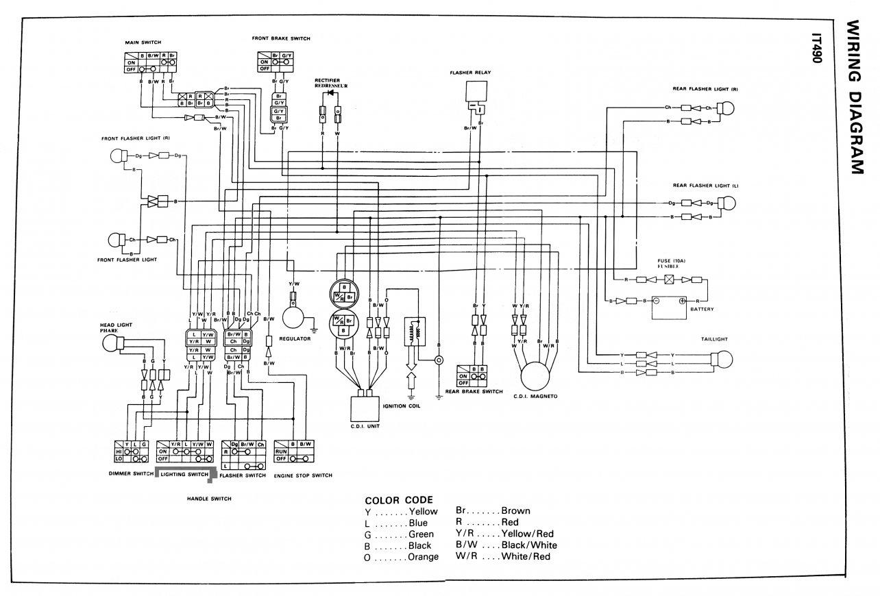 Schema Electrique 125 Xt