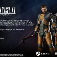 Juega como Gordon Freeman en 'Final Fantasy XV'