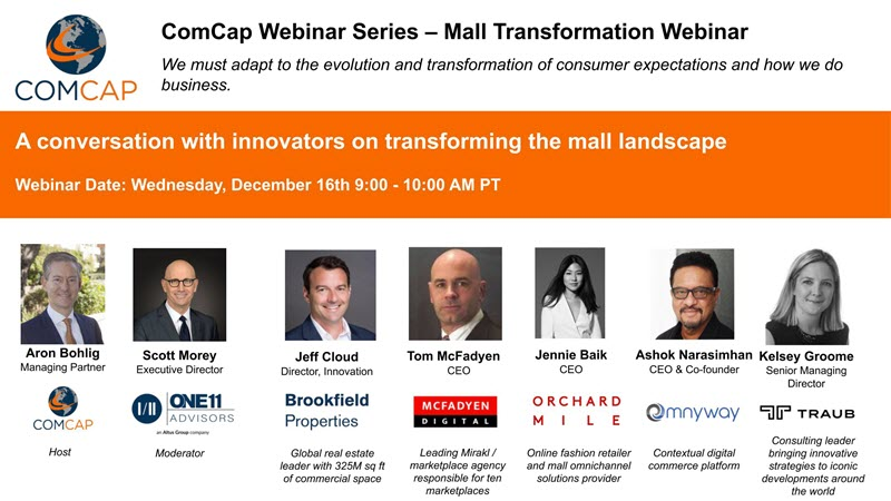 ComCap's Mall Transformation Webinar