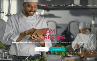 Com des Restos : la communication digitale dédiée aux restaurants