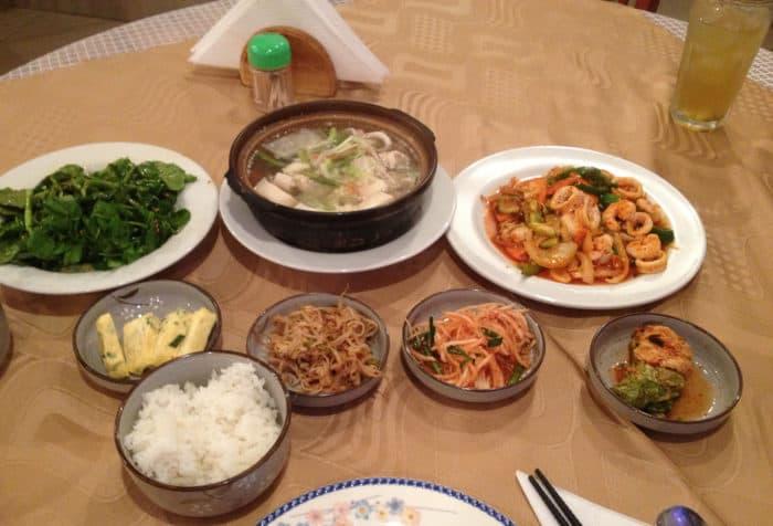 la comida coreana colouring pages
