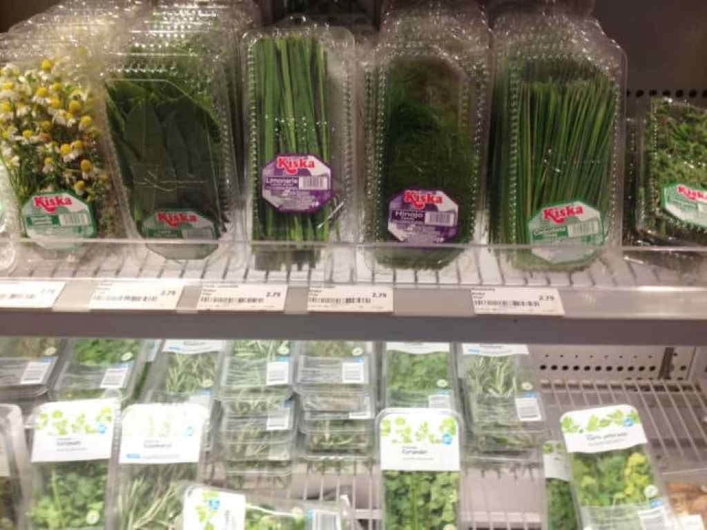 vegetales empacados