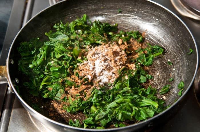 espinacas garam masala