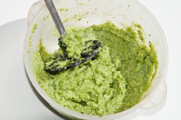 pure de brocolis