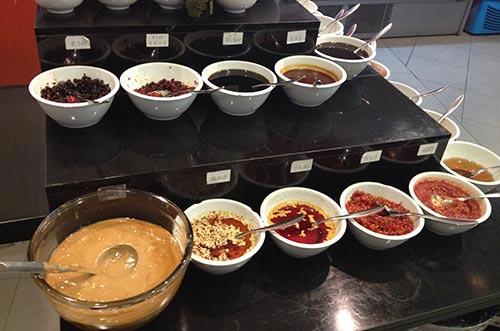 salsas hot pot
