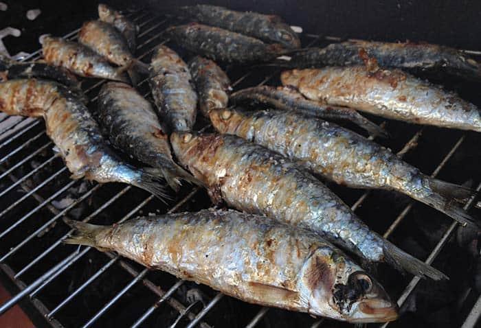 sardinas a la brasa