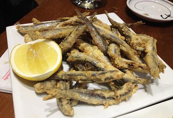 frituras de mar