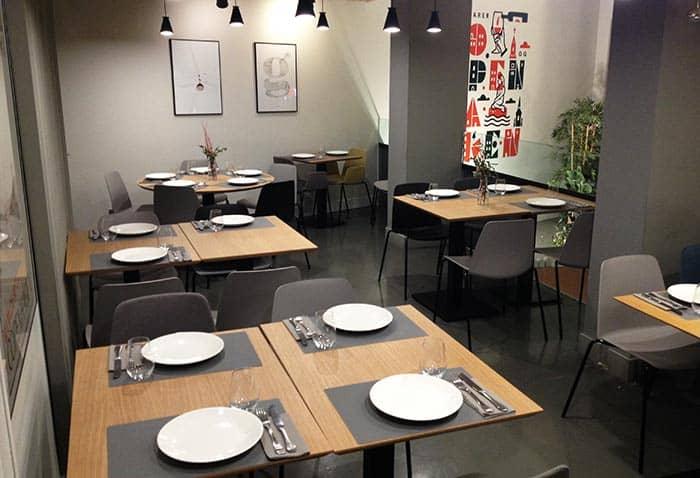 restaurante vegetariano copenhagen madrid