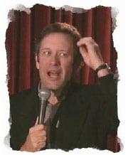 Jim Gossett comedian booking agency