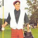 Book or hire golf comic T. P. Mulrooney
