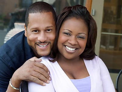 Book or hire celebrity chefs Pat and Gina Neely