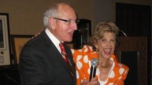 Book or hire motivational speakers Vince and Barbara Dooley www.ComediansAndSpeakers.com