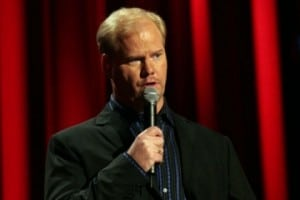 Book or hire stand up comic Jim Gaffigan