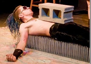 Book or Hire Tim Tv - Bed of Nails