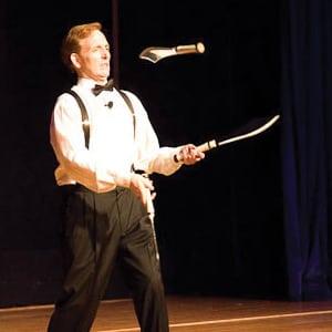 Frank Miles juggler for hire