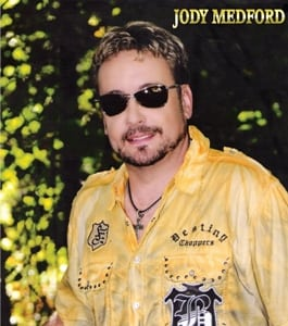 Hire Jody Medford country singer