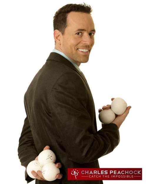 Charles Peachock booking agency jugglers