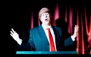 Booking Trump impersonator