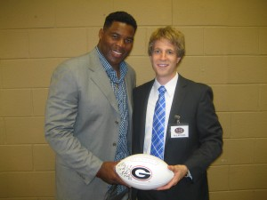 Herschel Walker Speakers Bureau Agent