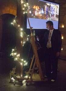 Hire iPad Live Event Painter Jeremy Sutton