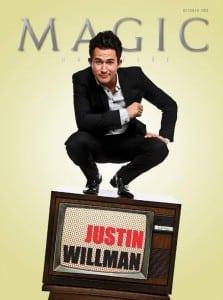Justin Willman Book Hire Agent