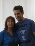 Mari Sanders of A to Z Entertainment, Inc., with Pop Music Singer Andy Grammer