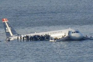 Captain Sully Sullenberger Miracle on the Hudson plane