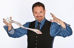 Best agent and agency for booking and hiring magicians comedians and illusionists like Robert Strong