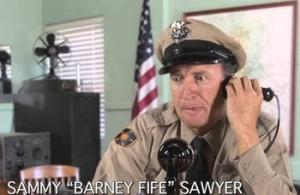 Barney Fife Impressionist Hiring Agent