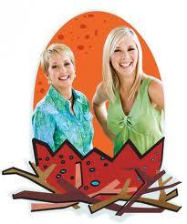 Comedians Karen Mills and Leanne Morgan
