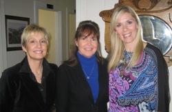 Clean Comedians Karen Mills and Leanne Morgan with Mari Sanders