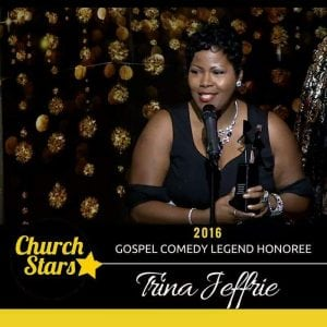 Trina Jeffrie agent comedian