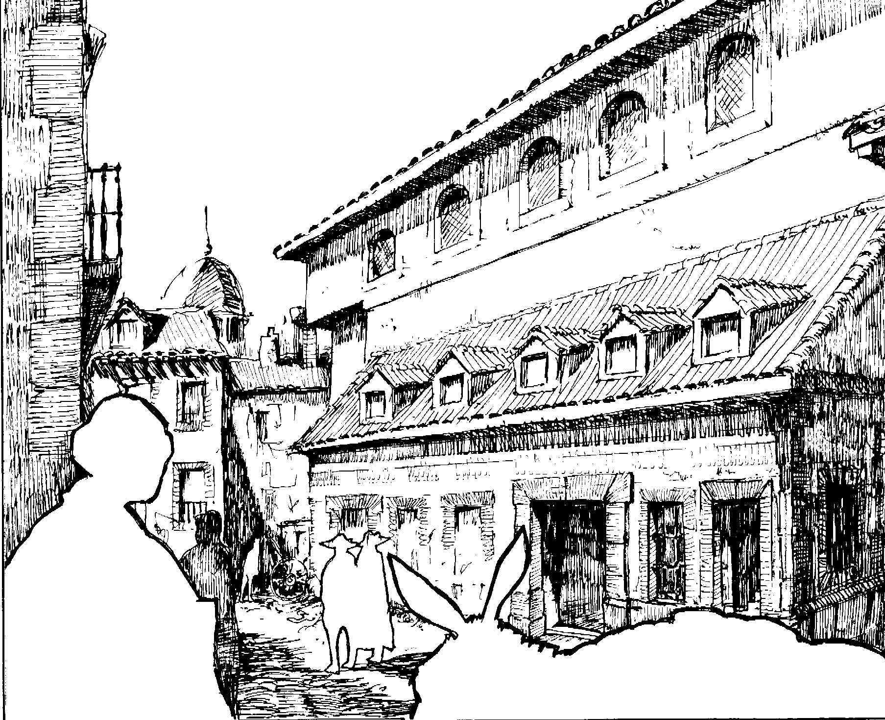 The Principe Theater In Madrid In The Seventeenth Century