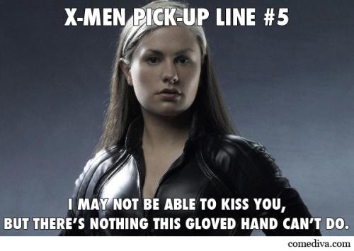 X Men Pick Up Lines Comediva