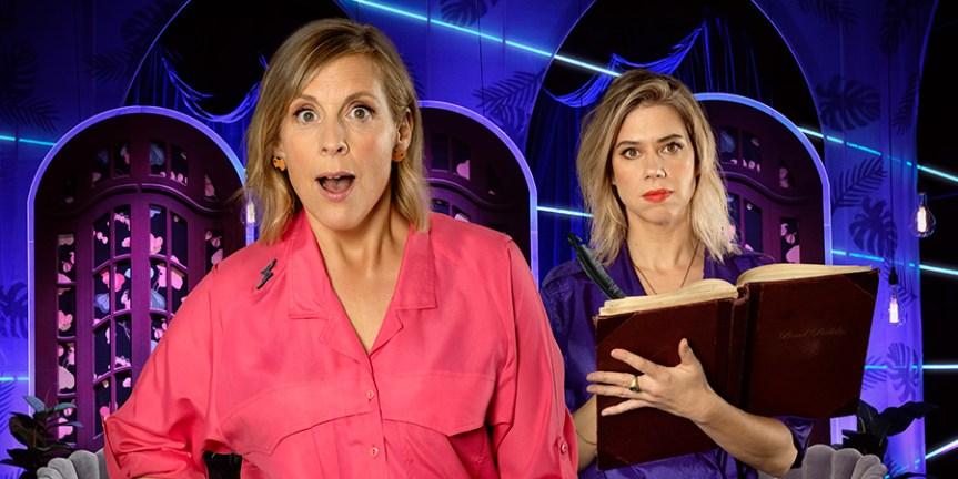 Mel Giedroyc: Unforgivable - Dave Panel Show - British Comedy Guide